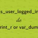 [Wordpress] 本番サイトでログイン中のみに関数の中身を表示させる方法