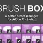 [Photoshop] 膨大な数のブラシを効率的に管理するプラグインBrushBox
