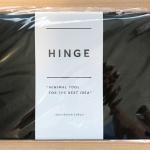 A4コピー用紙がノートに?デザイナーにオススメのアイディアツール「HINGE」の使用レビュー(画像付き)