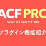 Advanced Custom Fieldsを更に使いやすく!ACF Proを選ぶ理由と機能紹介