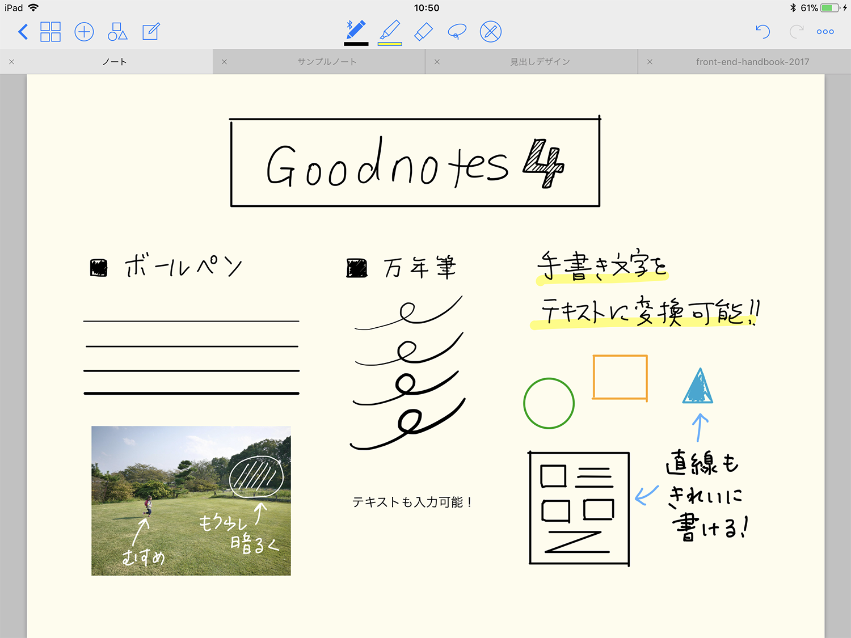 GoodNotes4の使い方