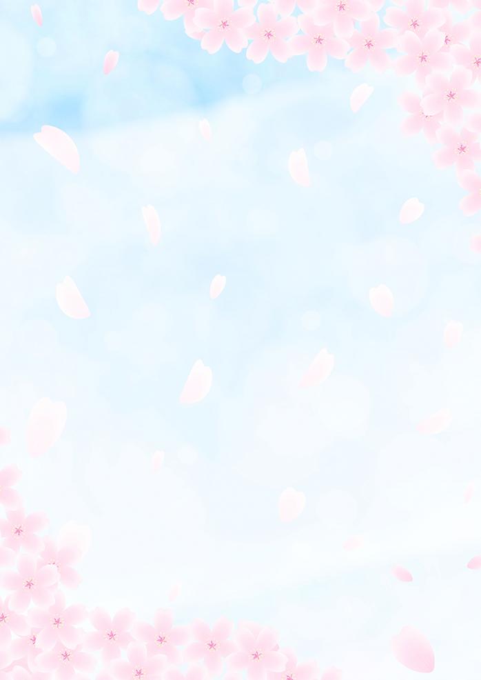 卒園アルバム 無料写真・背景素材 桜