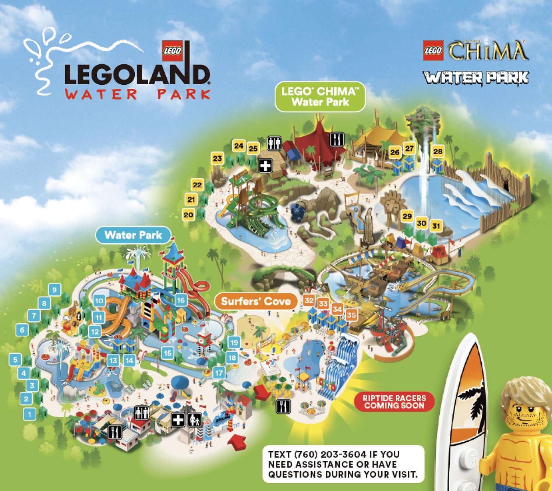 レゴランド・カリフォルニア Cabanaの地図