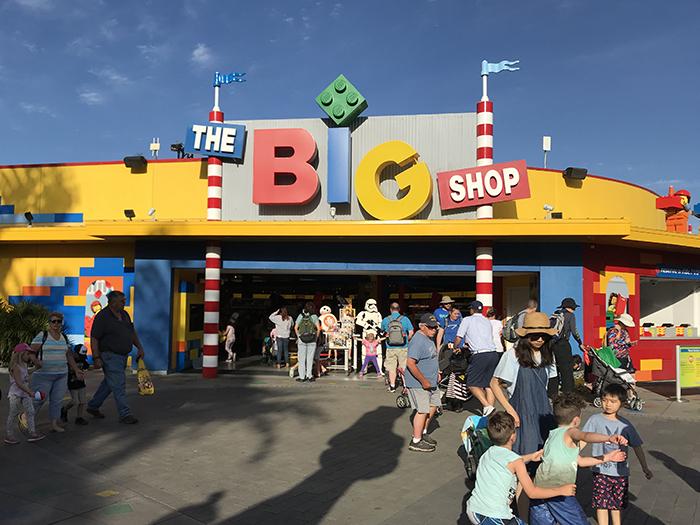 レゴランド・カリフォルニア お土産屋「BIG SHOP」