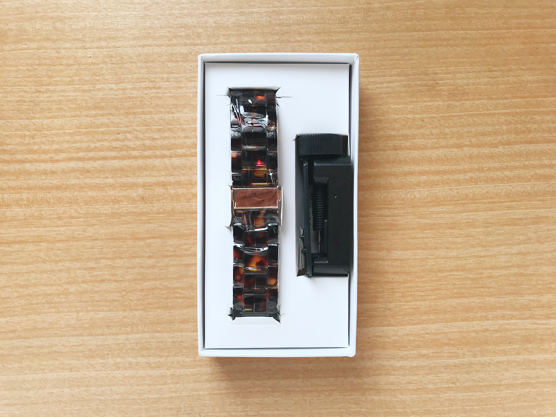 Apple Watchのバンド交換- V ・モロのバンドが到着!