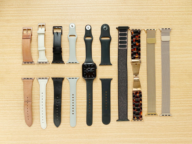 今までに買ったApple Watchのバンド大集合!