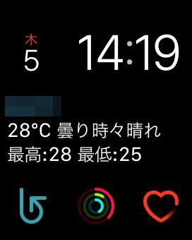 Apple Watch - 文字盤(モジュール)