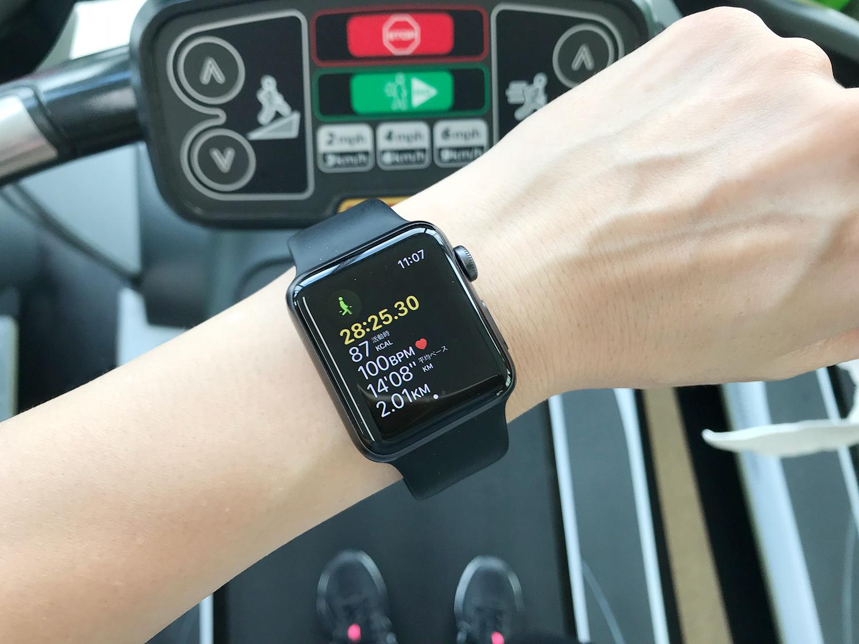 Apple Watchをジムで使ってみた