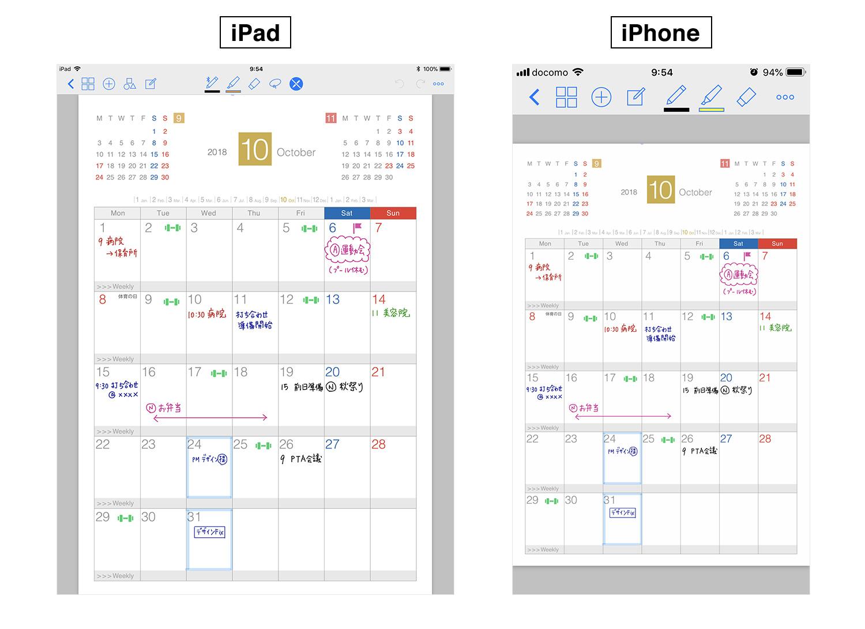 GoodNotes 4 iPadとiPhoneのiCouldでファイルを同期する