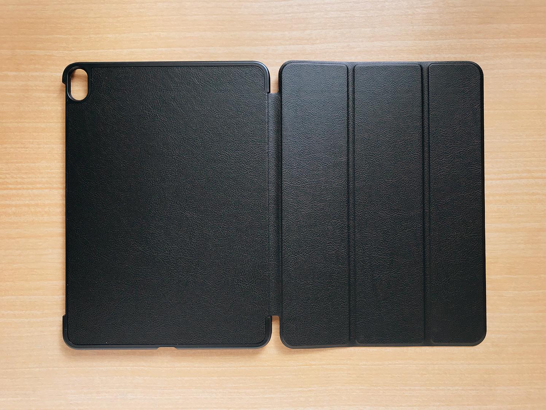 Apple Pencil2を収納・充電可能!格安iPad Pro 11インチ用ケースの表面