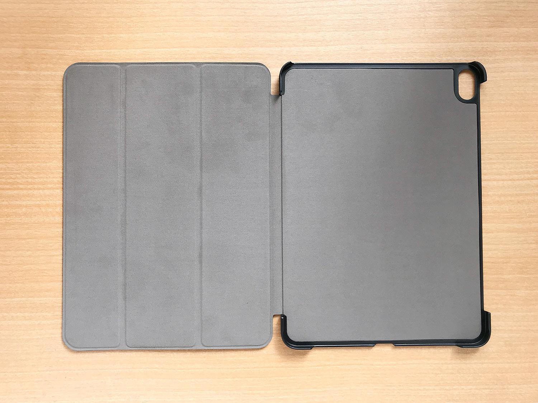 Apple Pencil2を収納・充電可能!格安iPad Pro 11インチ用ケースの内側