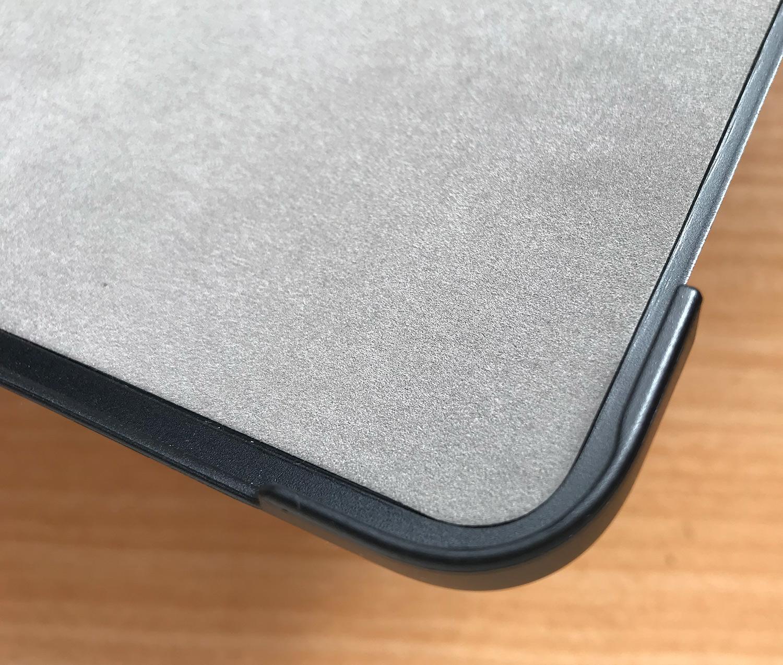 Apple Pencil2を収納・充電可能!格安iPad Pro 11インチ用ケースの内側UP
