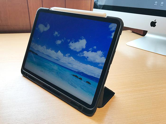 意外とよかった!1000円代の11インチiPad Proケースをご紹介【Apple Pencil2収納/充電可能】