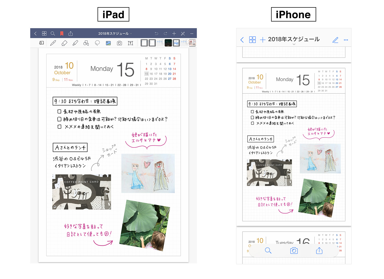GoodNotes 5のノートをiPad/iPhoneのiCloudで同期する