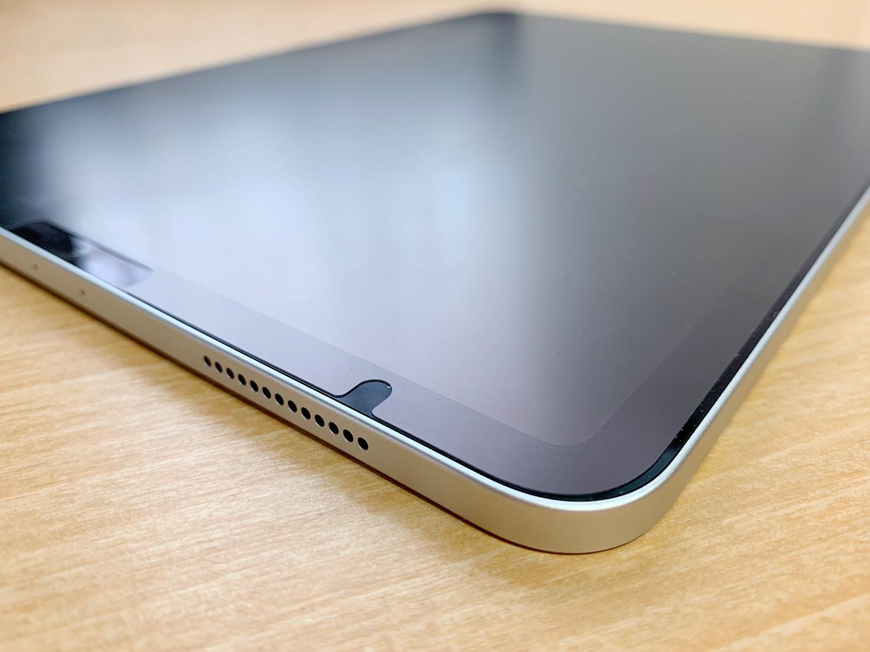 iPad Pro 11インチのフラットな外観デザイン