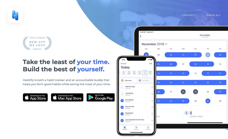 iPhone/iPad/Mac/Apple Watch/Androidで利用可能な習慣化アプリ「Habitify」