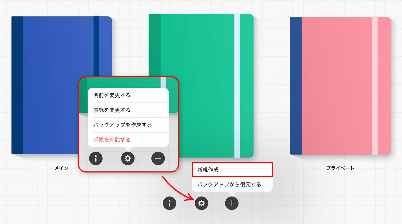 Planner for iPad 手帳の作り方