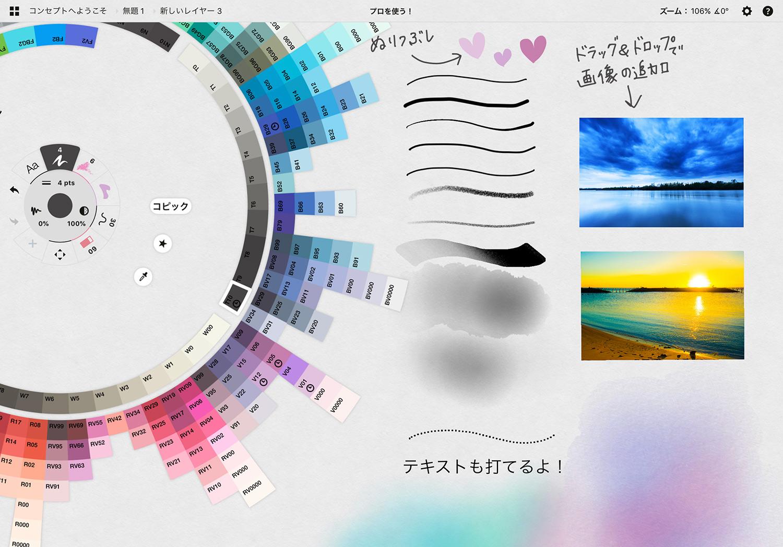 コンセプト(Concepts)のサンプル画像