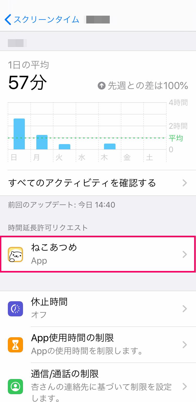 スクリーンタイムで制限されたiPhone/iPadの使用時間を延長する