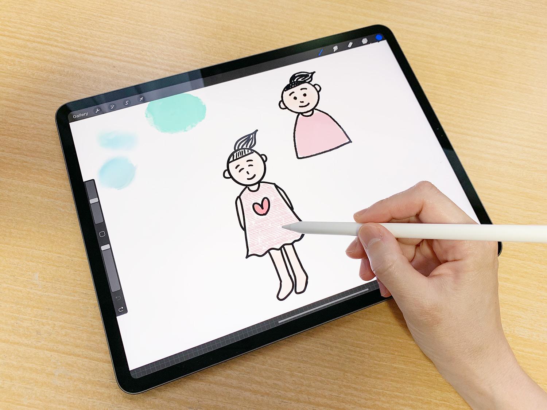 iPad Pro 12.9インチと11インチ比較:イラストや絵を描いたり、デザインするならどっち?