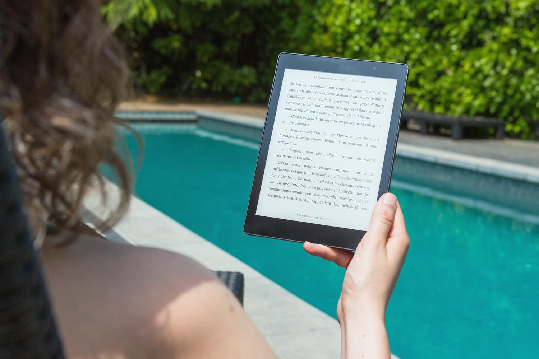 Kindleのメリット:防水機能