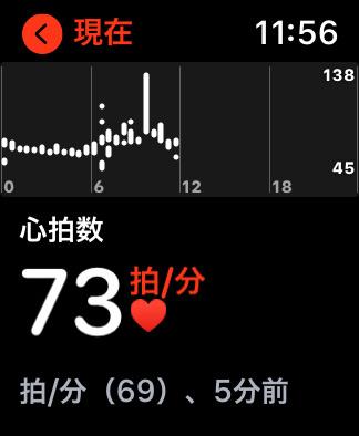 Apple Watchで心拍数を計測し、不規則な動きや異常値が検知されたら通知する