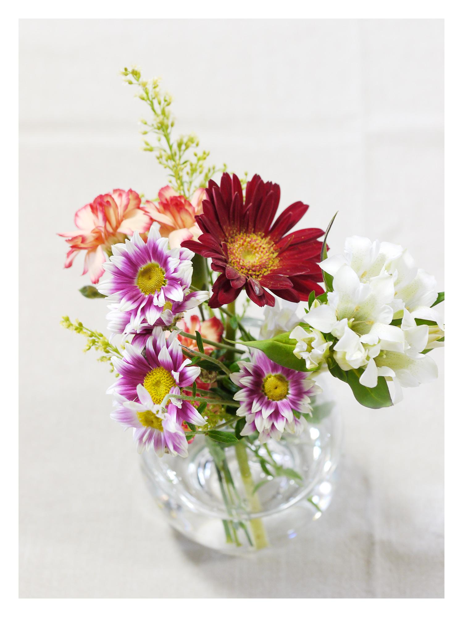 BloomeeLIFE(ブルーミーライフ)800円コース 三週目のお花