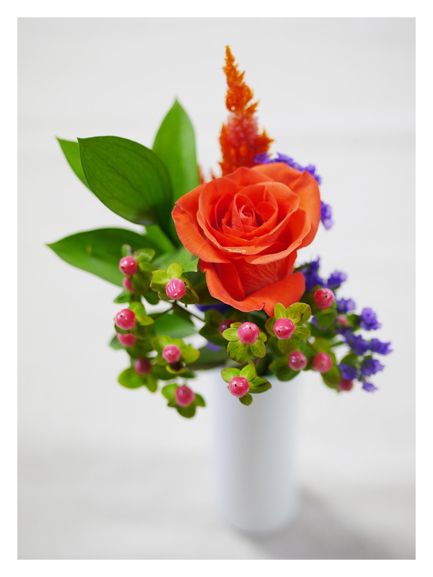 BloomeeLIFE(ブルーミーライフ)800円コース 四週目のお花